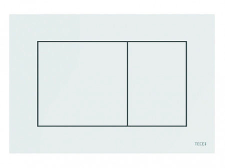 Кнопка смыва TECEnow 9240400 белый глянец
