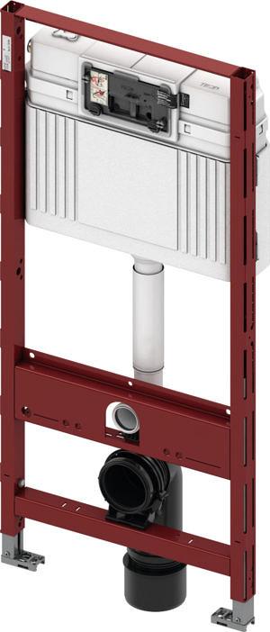 Система инсталляции TECE TECEprofil со смывным бачком Uni, арт. 9300000