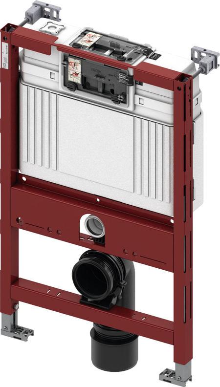 Система инсталляции TECE TECEprofil со смывным бачком Uni, арт. 9300001