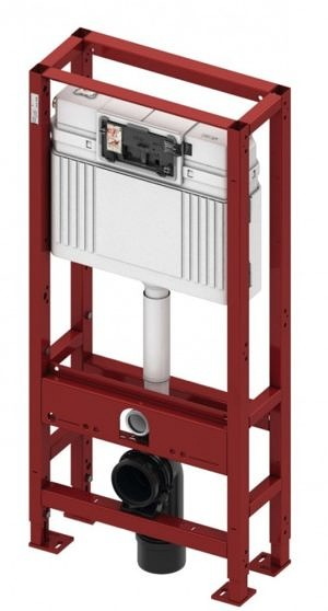 Система инсталляции TECE TECEprofil со смывным бачком Uni, арт. 9300031