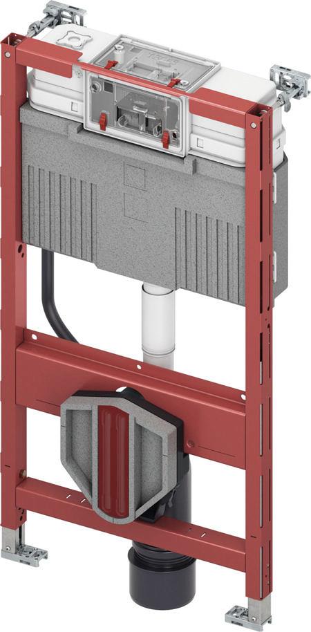 Система инсталляцииTECEprofil со смывным бачком Uni