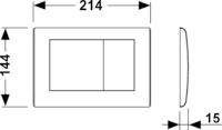 Кнопка смыва TECEplanus 9240324