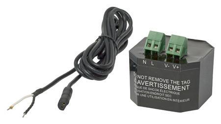 Трансформатор TECElux Mini для подключения кнопки