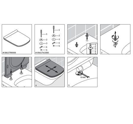Крышка-сиденье для унитаза DuraStyle с микролифтом Soft Close, петли нерж. сталь Duravit
