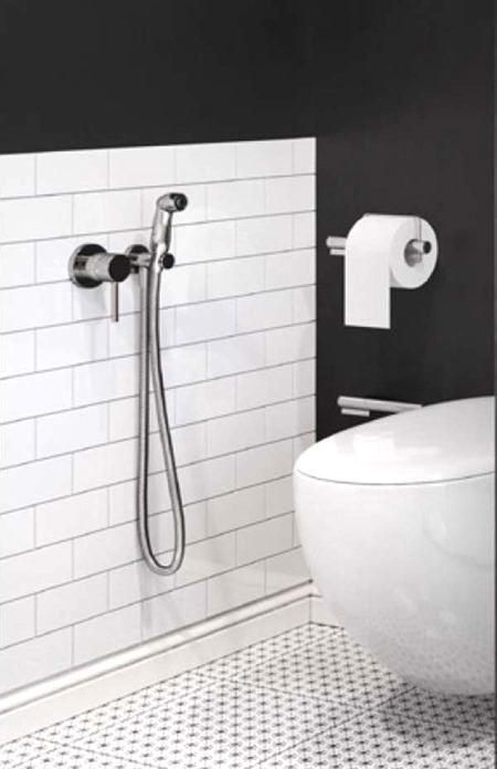 Гигиенический душ BOZZ HYGIENIC-SET, Kludi.