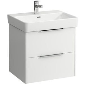 Шкаф под раковину 570х440х530 мм, Base (Pro S), белый глянцевый, ящики с доводчиками, Laufen