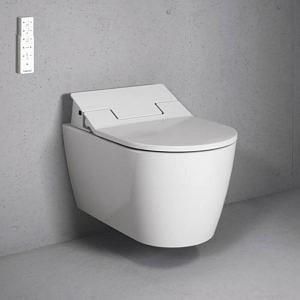 Унитаз подвесной МЕ by Starck Rimless SensoWash в комплекте с крышкой-биде SC, Duravit
