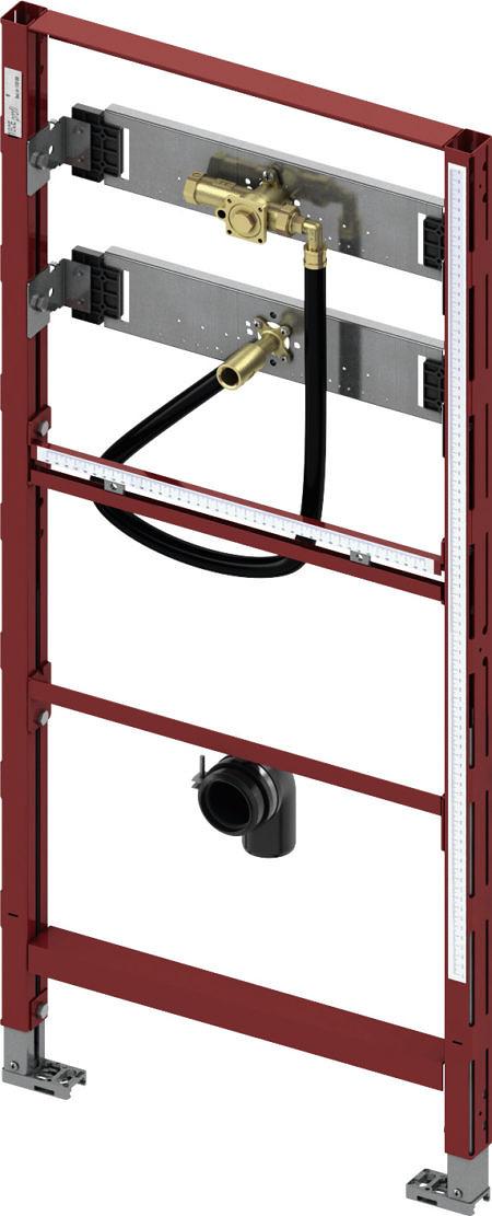 Модуль для писсуара с корпусом клапана смыва TECE U 1, высота 1120 мм, ТЕСЕprofil
