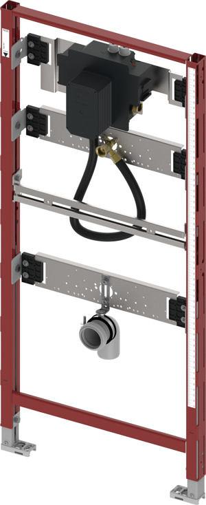 Модуль для писсуара с корпусом клапана смыва TECE U 2, высота 1120 мм, TECEprofil