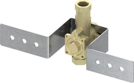Клапан смыва писсуара U1, с монтажной пластиной, TECEprofil
