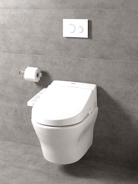 Унитаз подвесной с функцией биде TOTO MH CW162Y с сиденьем WASHLET EK 2.0 TCF6632G#NW1