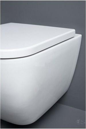 Белый подвесной унитаз Kame W711