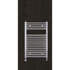 Полотенцесушитель 775х500 мм, прямой, хром, Aura, Zehnder. Для закрытых систем отопления.