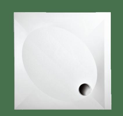 Поддон душевой 90х90 см из литого камня с панелью и регулируемыми ножками. PAA