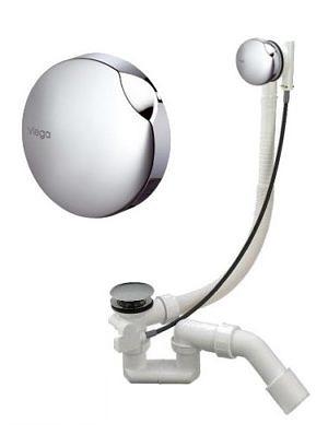 Сифон для ванны удлинённый, автомат, Viega Simplex, Viega