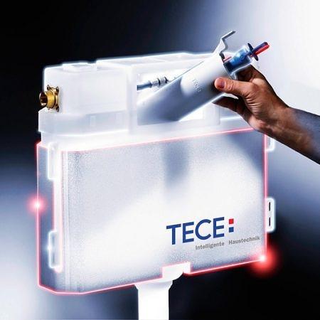 Застенный смывной бачок Uni TECEbox для установки с напольным унитазом, TECE