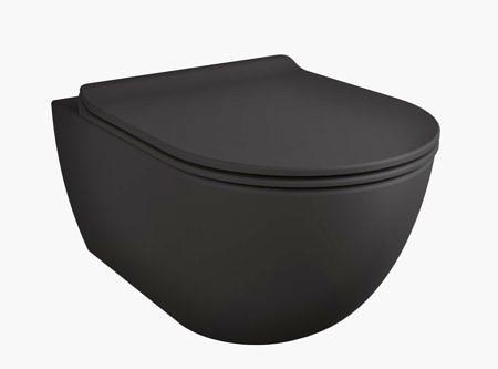 Унитаз подвесной безободковый Flaminia App Goclean 360x540 мм