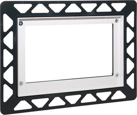 Монтажная рамка для монтажа на уровне стены Белая