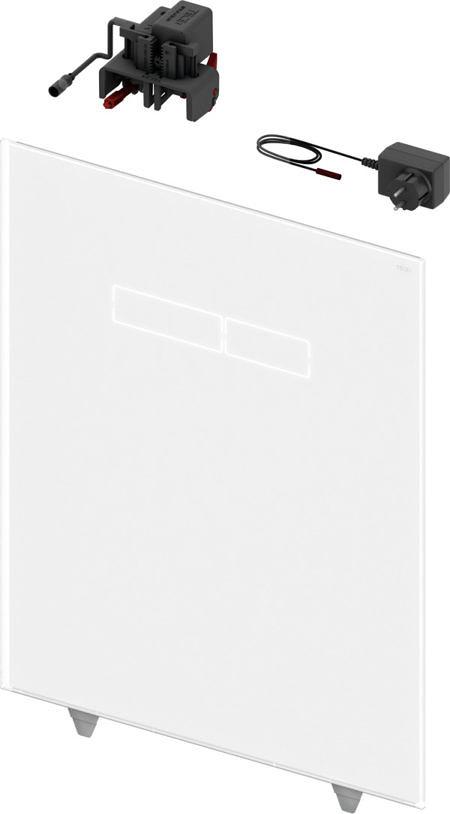 Верхняя стеклянная панель TECElux с сенсорным блоком управления
