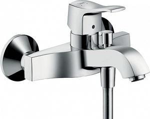 Смеситель для ванны Metris Glassic, Hansgrohe
