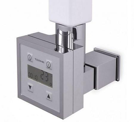 Элемент управления электронагревателем с крышкой Terma Technologie KTX-3 хром