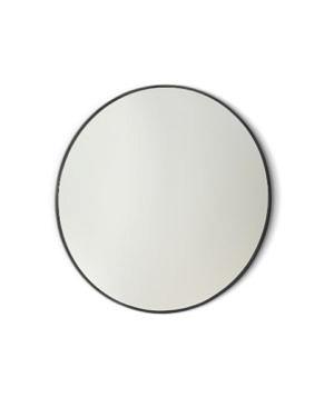 Зеркало подвесное круглое D90 см, Gamma Round Black, чёрная стал.рама Vanita&Casa