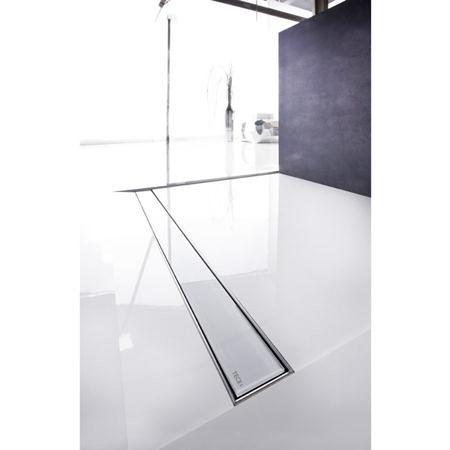 Вставка стеклянная TECEdrainline, зелёное стекло. ТECE - 700 мм