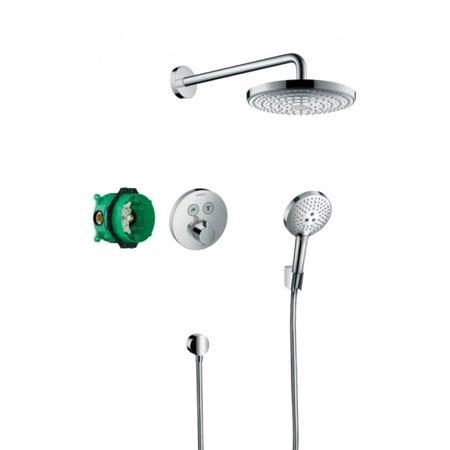 Встраиваемая душевая система с термостатом Shower Select S, Hansgrohe