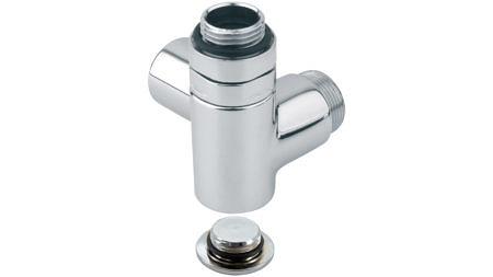 Комбинированный угловой клапан 1/2  левый / правый. Carlo poletti