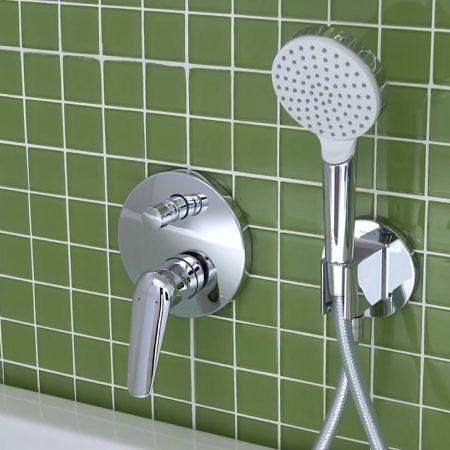 Встраиваемый смеситель для ванны и душа Novus, Hansgrohe