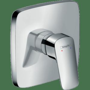 Встраиваемый смеситель для ванны и душа Hansgrohe Logis