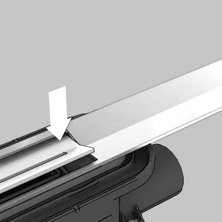 Душевой лоток, прямой, 800 мм,  TECEdrainprofile