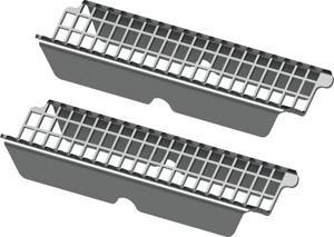 Решетка для волос TECEdrainprofile