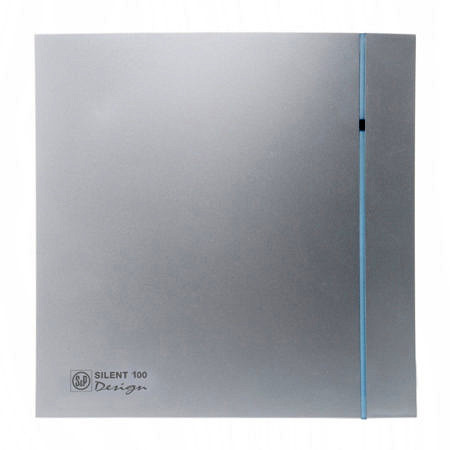 Вентилятор SILENT DESIGN -100 CZ Серебристый