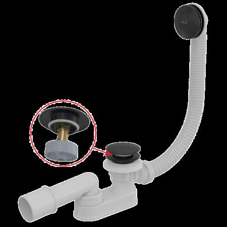 Сифон для ванны, длина 100 см, Alcaplast